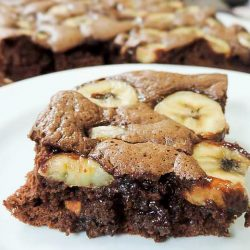 Fazer Brownie de Whey com Chocolate e Banana